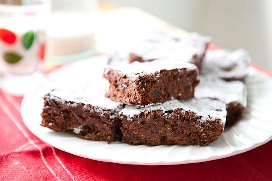Double Chocolate Cherry Quinoa Brownies   Recipe