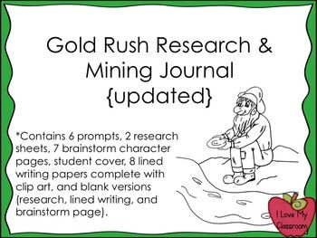 Research papers on the gold rush