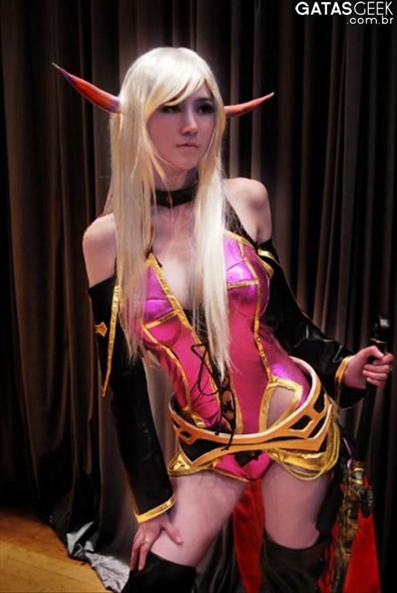 Cosplay Warcraft – Elfa