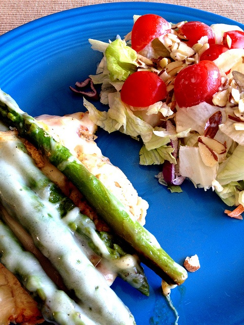 Chicken with Asparagus and Swiss Cheese | Chicken | Pinterest