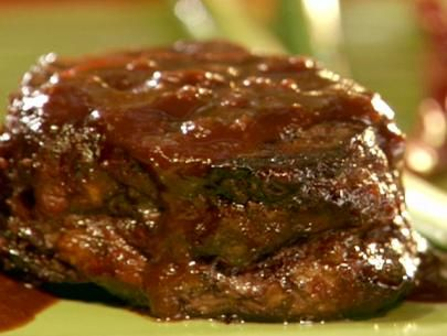 Grilled Filet Mignon with Chocolate Coffee BBQ Sauce | Recipe