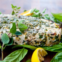 Grilled Fish with Citrus Herb Crust | paleo munchies | Pinterest