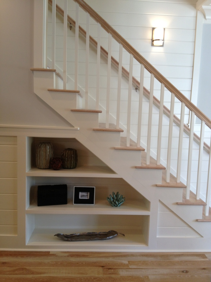 how to build under stairs storage
