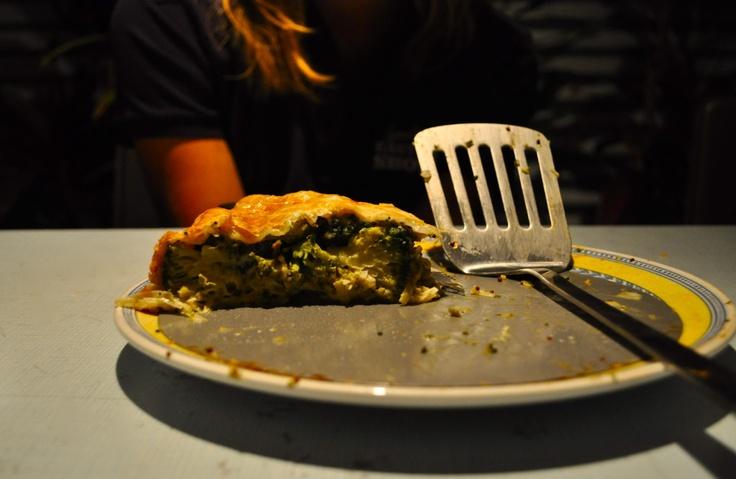 broccoli and gorgonzola pie | Savoury deliciousness | Pinterest