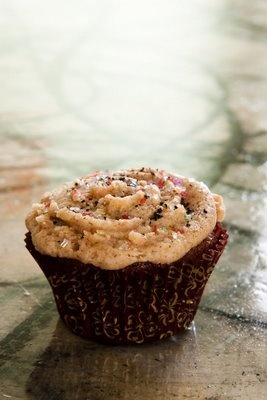 Carob Cupcakes with Chicory, Dates, Figs, and Almonds AND almond ...