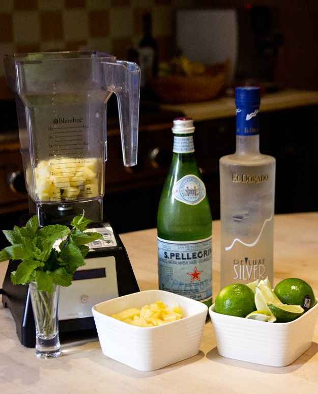 Infidelity and a Pineapple Mint Mojito | Party Time! | Pinterest