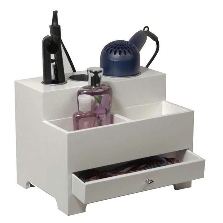 Hair Blow Dryer Tool Flat Curling Iron Holder Caddy