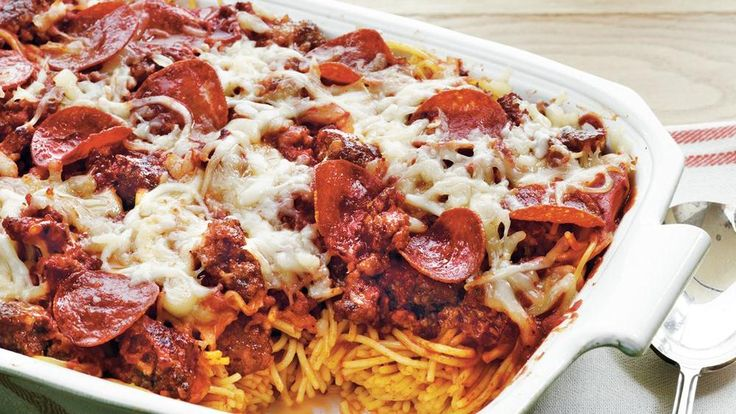 Pepperoni Pasta Casserole | Recipe