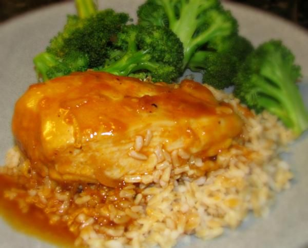 Easy Apricot Chicken #Recipe #Healthy