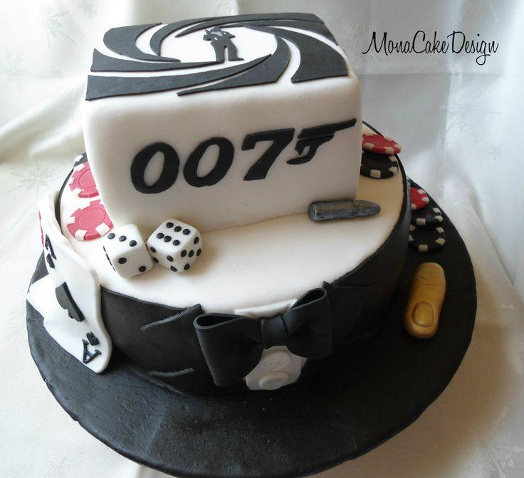 Cake Design James Bond : James Bond Cake Cake Ideas Pinterest