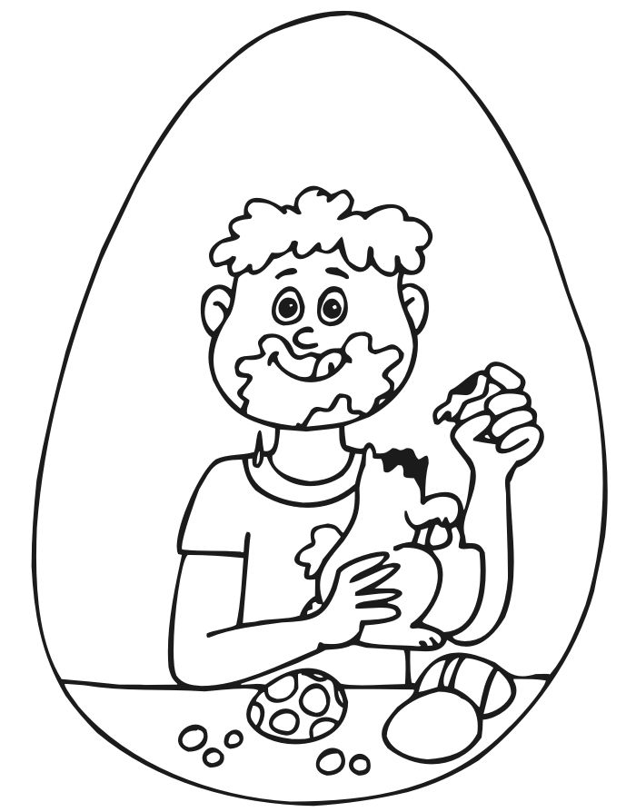 easter candy coloring pages - photo#30