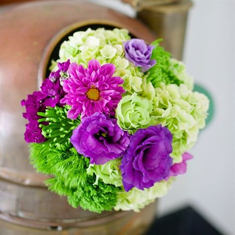 Come In Many Shades Wedding Flowers Centerpieces Pinte