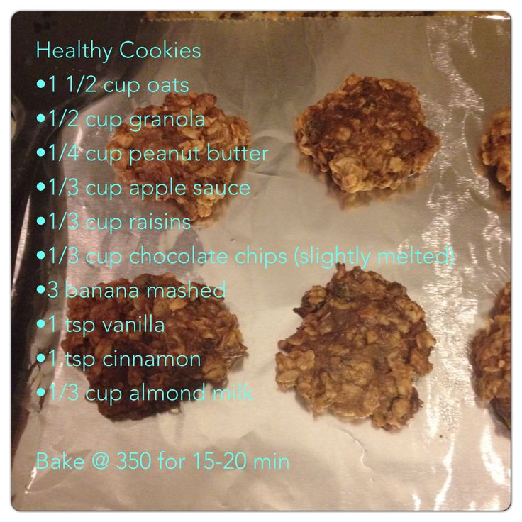 Nikki's Healthy Cookie Recipe — Dishmaps