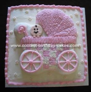 Baby Stroller Cake cakes