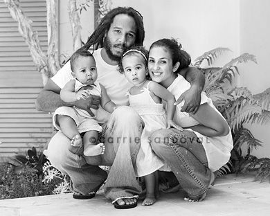 Orly  amp  Ziggy Marley s family circa 2007  photo  Carrie SandovalZiggy Marley Family Time
