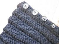 Button Up Neck Warmer Crochet Pattern | Red Heart