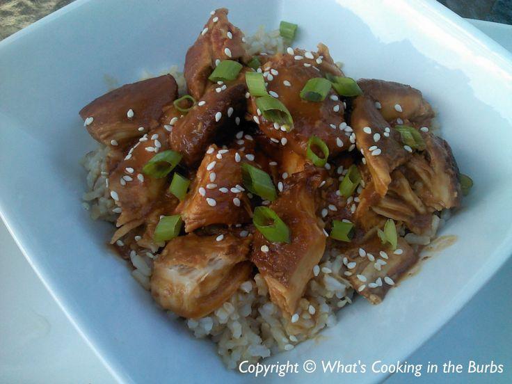 Honey Sesame Crock Pot Chicken | Crock Pottin' | Pinterest