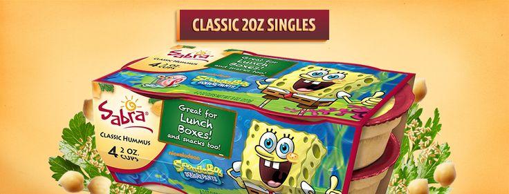 Sabra Hummus Classic 2oz Singles | Snacks | Pinterest