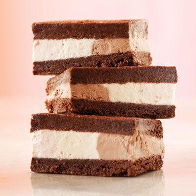 Homemade Neapolitan Ice Cream Sandwiches #recipe from # ...