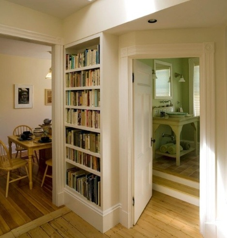 small home library for the home pinterest
