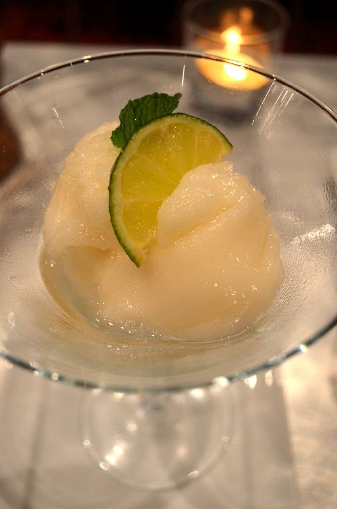 Fat-Free Key Lime Sorbet | deliciousness | Pinterest