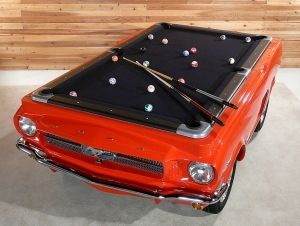 1965 Ford Mustang Pool Table $9,995USD