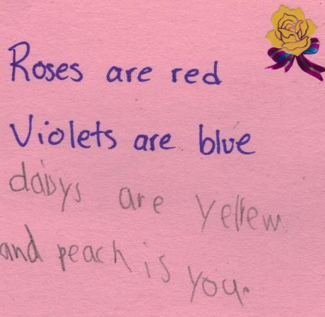 valentine rose ecard