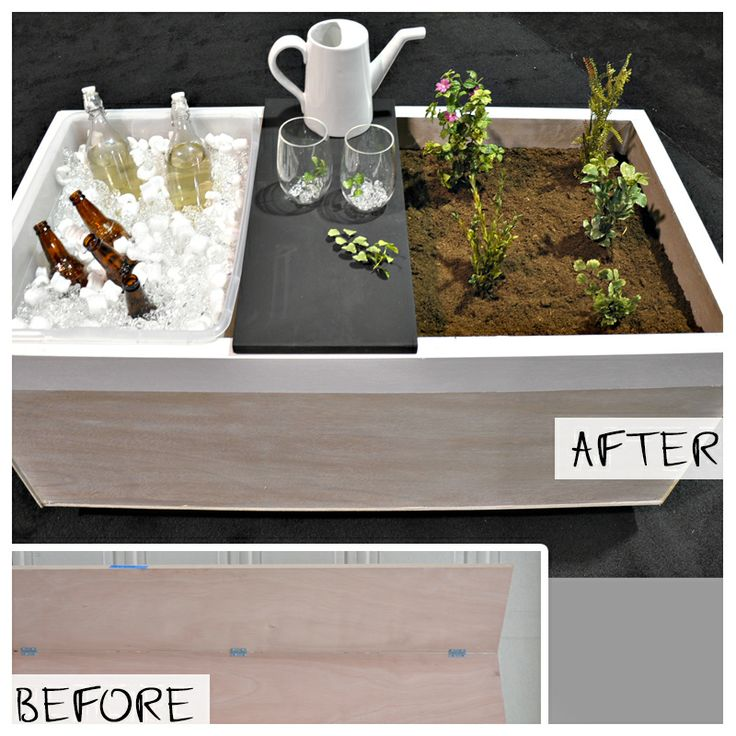 Upcycle Backyard Cooler Garden