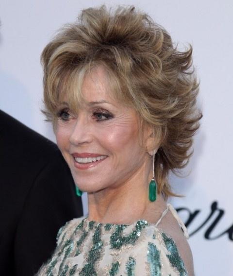 Jane Fonda Short hair styles Pinterest