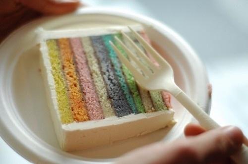 pastel layered cake | Bolos, Doces, Guloseimas... | Pinterest