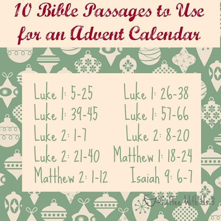 Advent Calendar Ideas Bible Verses : Advent bible quotes quotesgram
