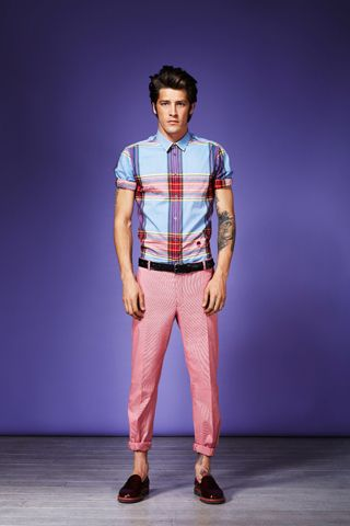 Plaid and pink...can't go wrong