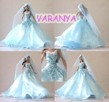 barbie dress up wedding