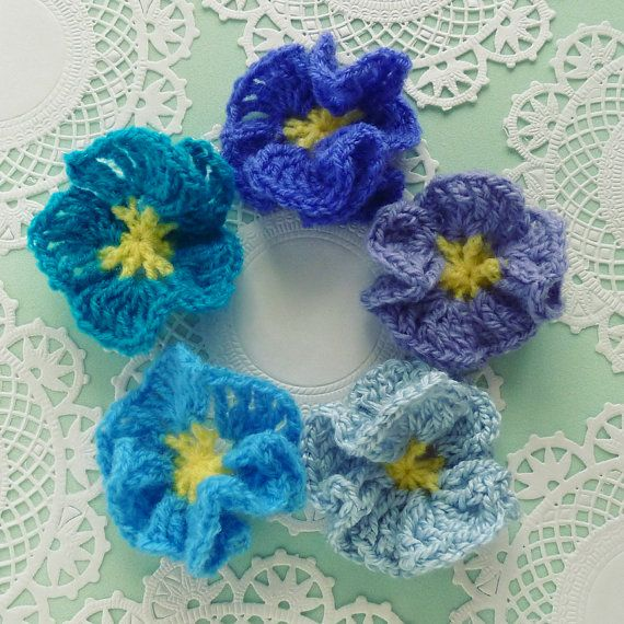 Flower Crochet Pattern Amelie - Easy beginner PDF - PHOTO ...
