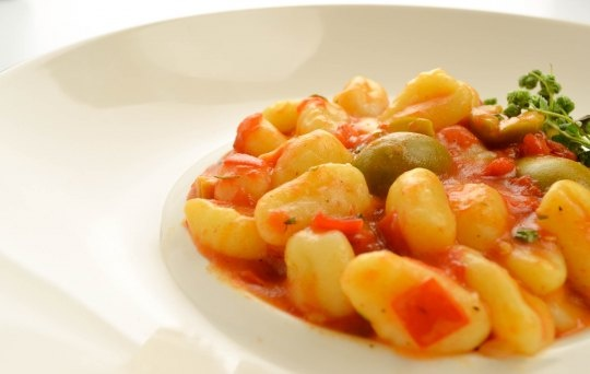 Green Olive Gnocchi Recipe — Dishmaps