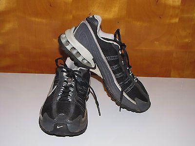 Nike Reax Womens Running Shoes Sneakers Sz. 7M Black, Silver, Blue