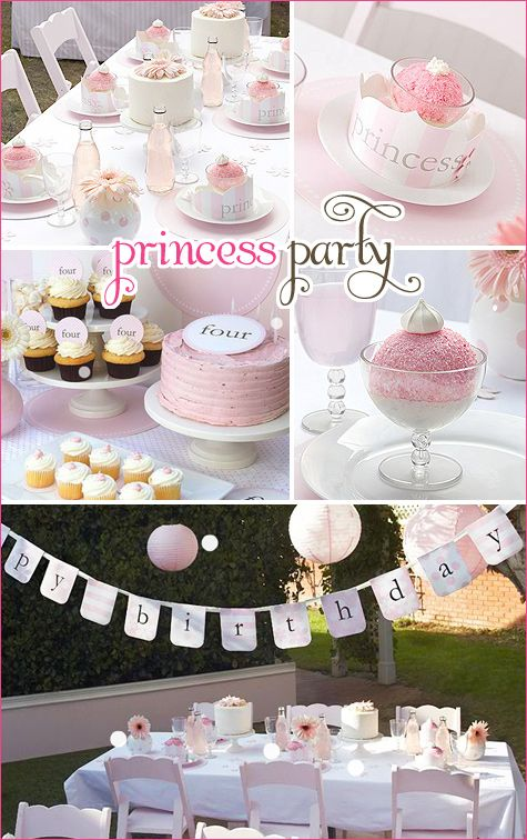 I wish I could say that I love this idea for a future daughter, but I can't.  I want this party for me!