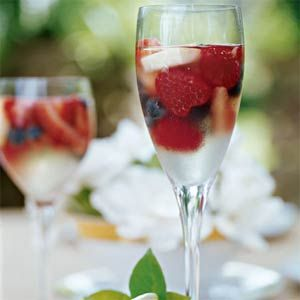 Sparkling Fruit Gelées Recipe. ...but how would you serve it? With a ...