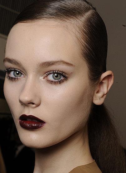 Neutral Eye Makeup + Black Cherry Lips | Makeup | Pinterest