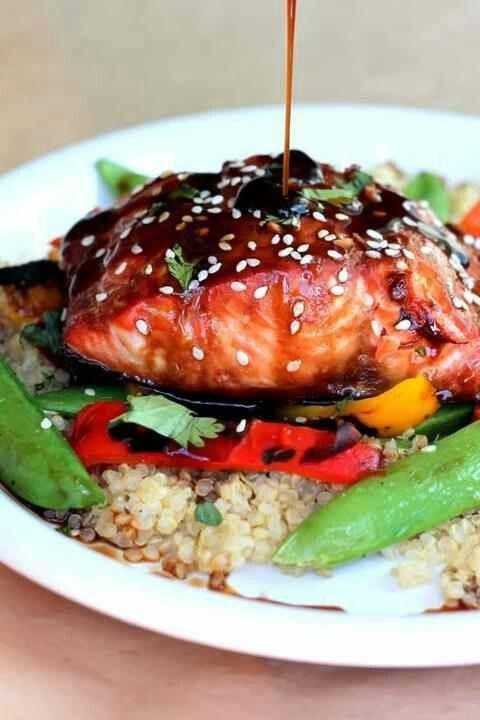 ginger teriyaki salmon | fabulous food and dessert | Pinterest