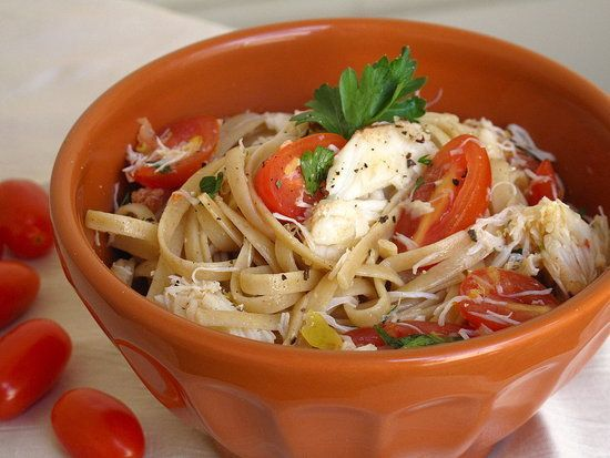... bit and celebrate crab season with crab, lemon, and chile linguine