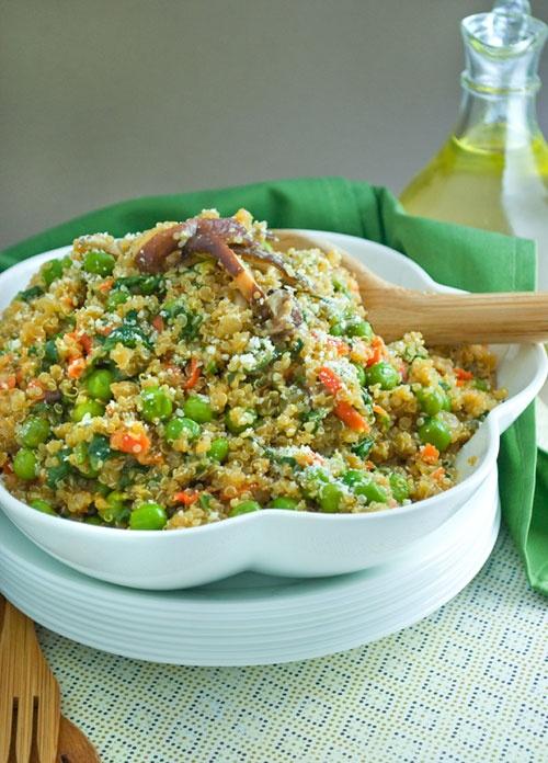 Quinoa Risotto Recipe: We love quinoa and this recipe is a perfect ...