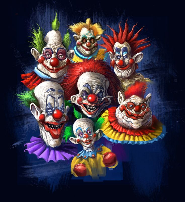Killer klowns from outer space killer klowns from outer for Space clowns
