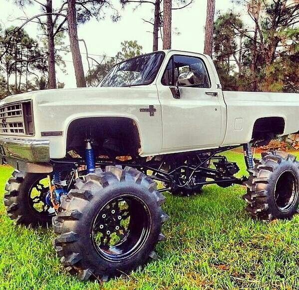 Chevy mud truck | Lifted Toyz!!! | Pinterest