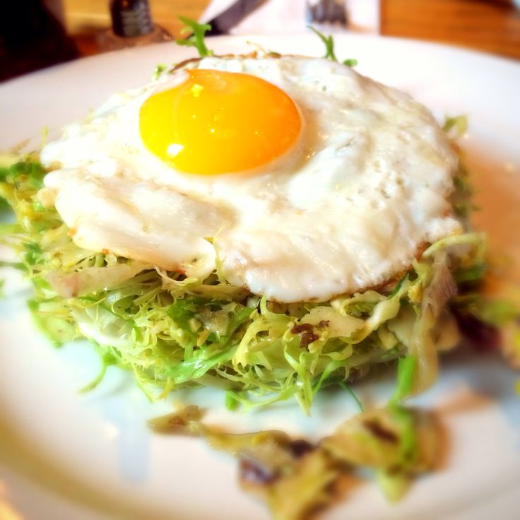 Brussels Sprouts With Fried Eggs And Spiced Yogurt Recipes ...