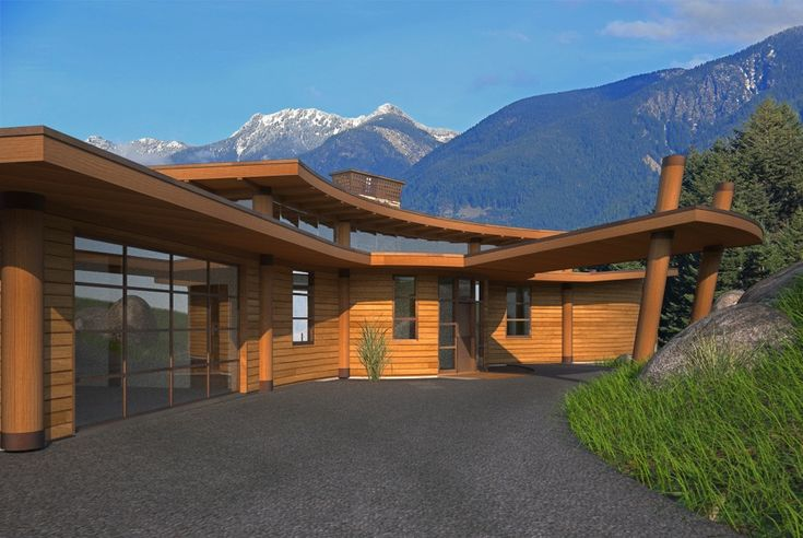 West coast post beam home design residential designer for West coast home plans