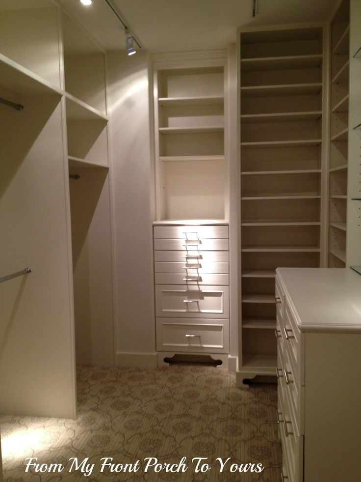 I Want To Do Something Like This To My Master Bedroom Closets