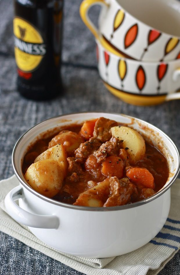 Peppery Guinness Irish Beef Stew [not necessarily a slow-cooker recipe ...
