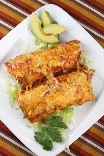 Easy Beef Enchiladas | Where's the BEEF? | Pinterest