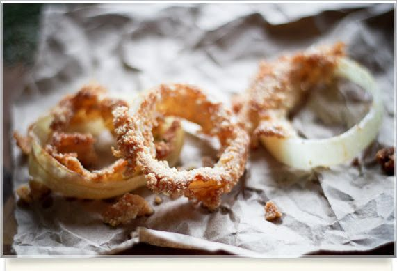 Gluten free onion rings | Better Options | Pinterest